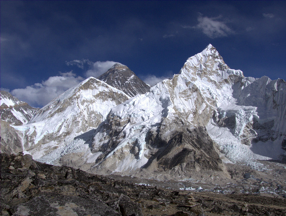 Mount Everest from the top of Kala Paathar