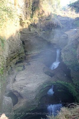 Devi's Waterfall in Pokhara