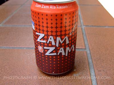 A can of Zam Zam cola