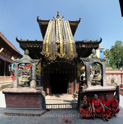The great Siddikali temple in Thimi