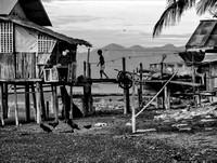 Stilt House in Brookes Point, Palawan