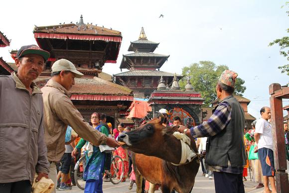 Kathmandu Durbar Square (Basantapur) today