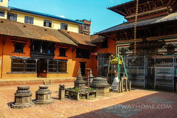 Courtyard of the Patan Kumari