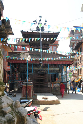 The Lokeshwor temple in Thimi