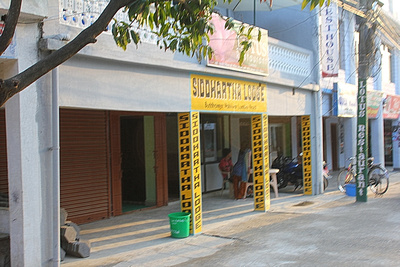 Cheap guesthouse in Lumbini the Siddhatha Lodge
