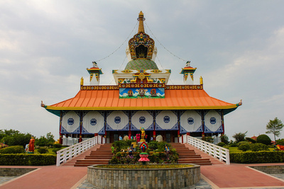 Tibetan Temple in Lumbini