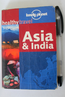 Lonely Planet Healthy Asia Book Cover