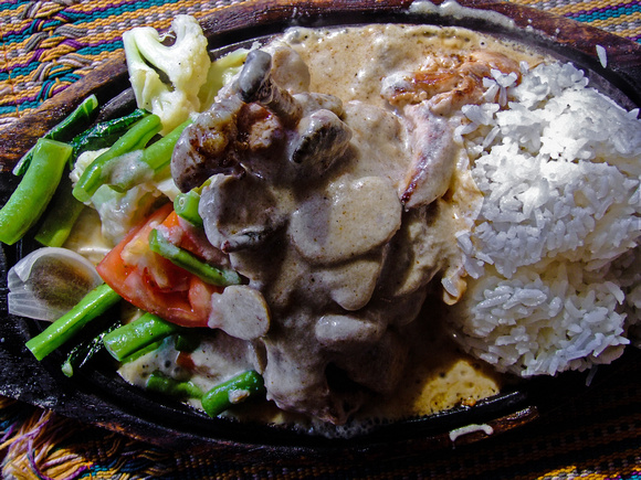 Chicken Sizzler from Nepal
