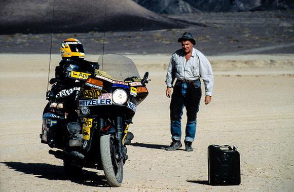 Emilio Scotto in the Gobi Desert