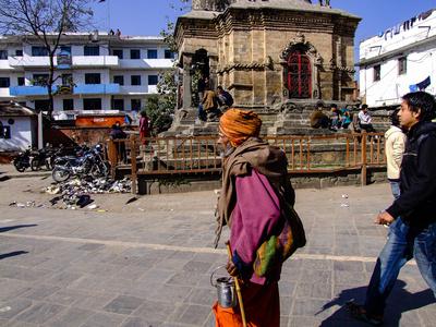 Historic street in Kathmandu
