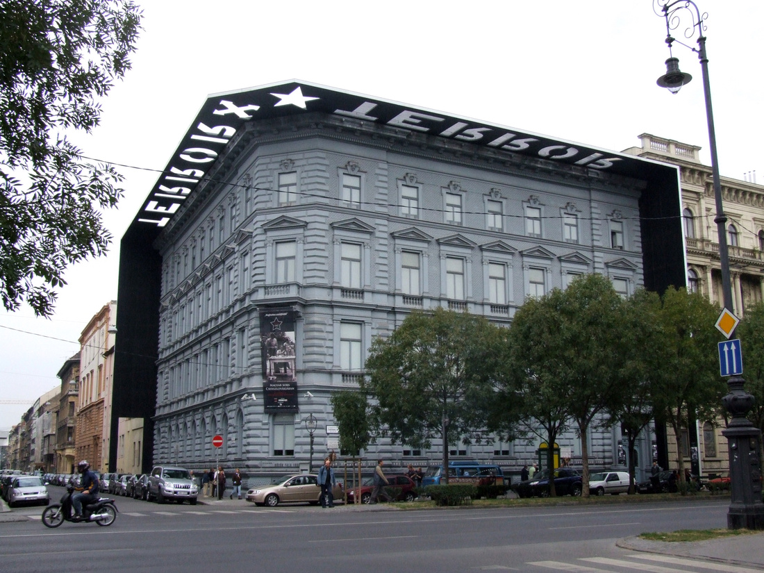 House of Terror in Budapest Hungary
