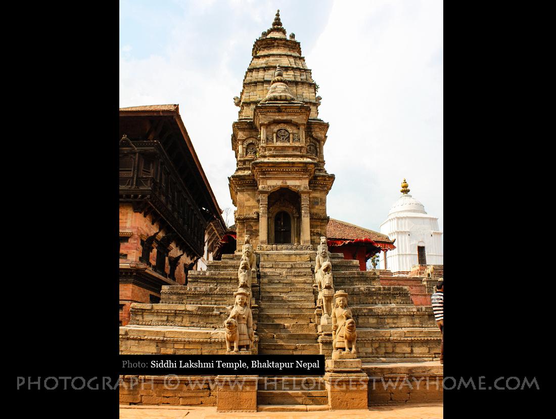 Siddhi Laxmi Temple in Bhaktapur
