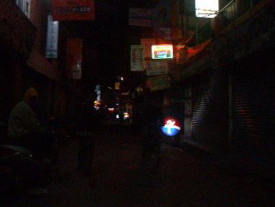 Ignoring the drug sellers in Kathmandu