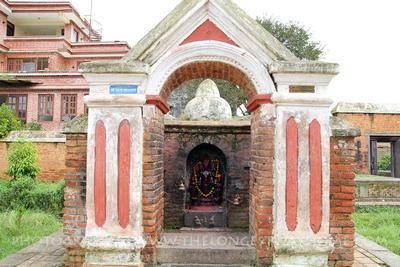 Satya Narayan temple in Panauti Nepal