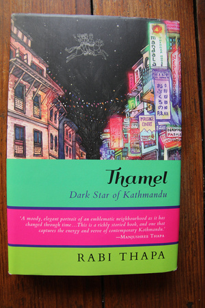 Cover of Thamel: Dark Star of Kathmandu by Rabi Thapa
