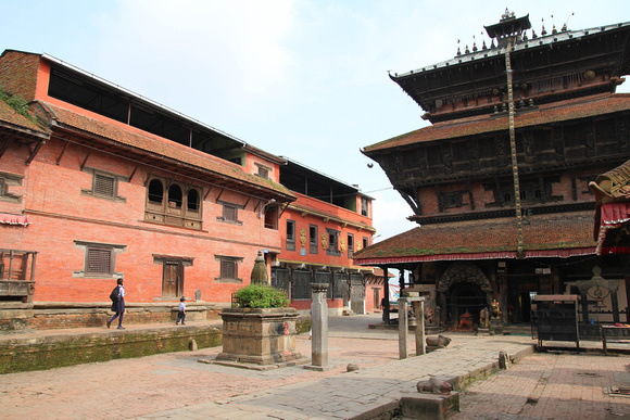 Bagh Bhairab Temple Complex Kirtipur, Kathmandu Valley, Nepal