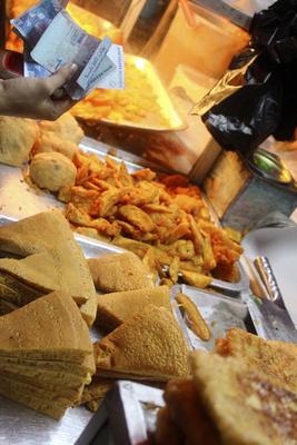 Bargain is in Kota Kinabalu's night market food stalls