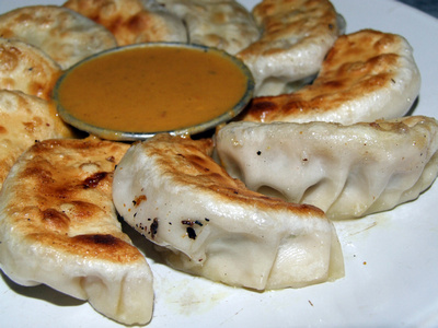 Chicken Momo's from Nepal