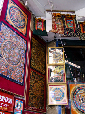 Thangka painting in Nepal