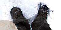 Broken boots on Everest