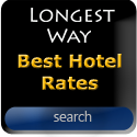 Search for the best hotel rates with The Longest Way Home