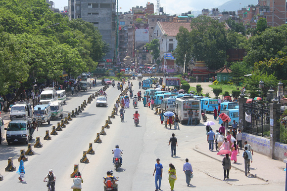 Banda's generally end at around 5pm when the streets start and people return to normal