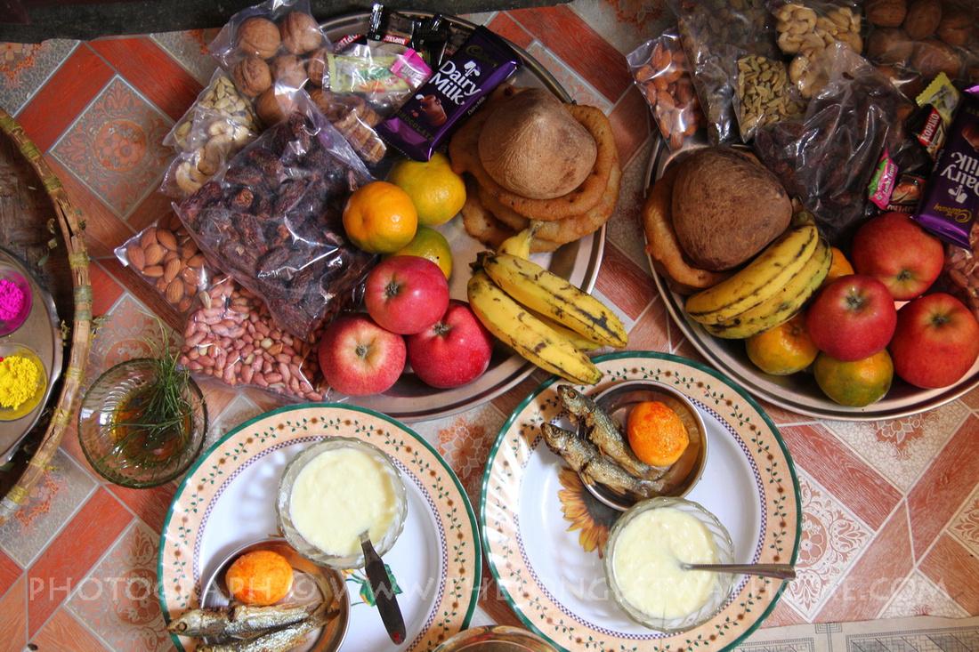 Sambat rangoli display to mark Newari New Year
