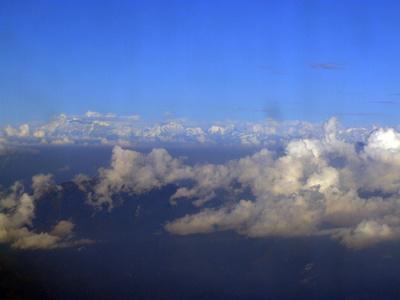 Himalayan mountains getting closer