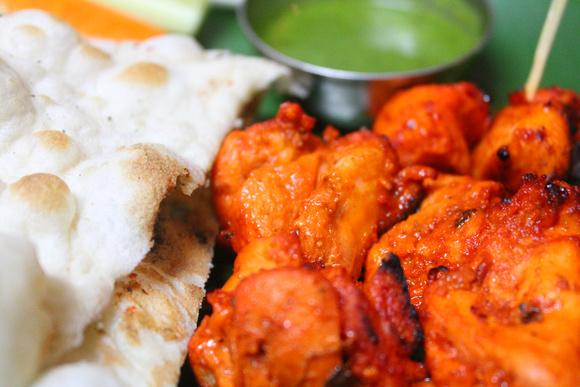 Makhmali Kebab (chicken) from Nepal