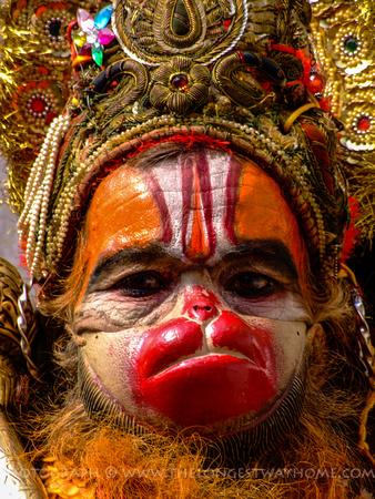 Hanuman the Sadhu