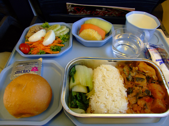 Airline lunch