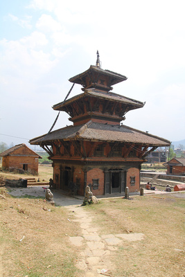 The Brahmayani temple in Panauti