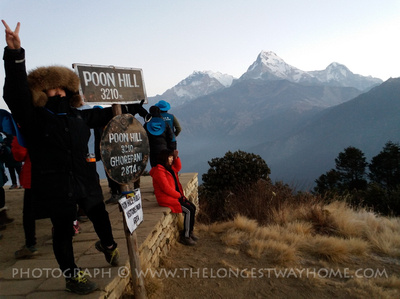Trekking to Poon Hill