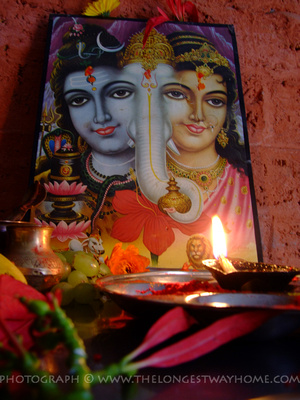 Shivaratri is a celebration for the Hindu Deity Shiva