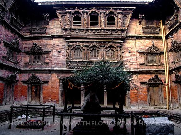 The Kumari house in Kathmandu Durbar square