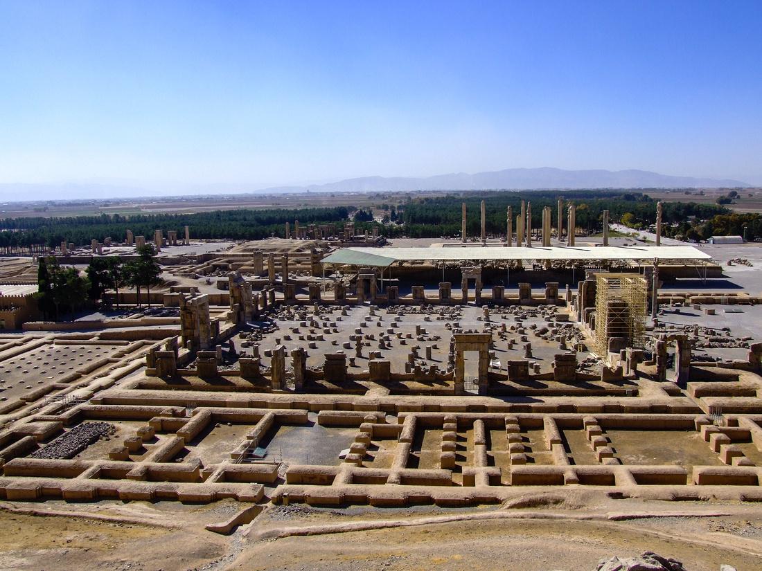 Persepolis city view in Iran