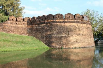 Chiang Mai's old city walls
