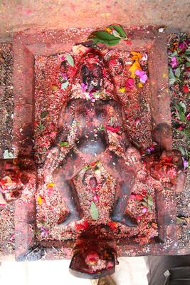 Dhartimata statue in Kirtipur