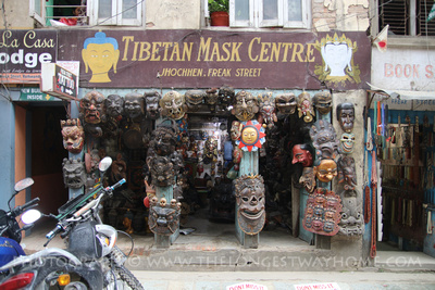 Tibetan Mask Center on Freak Street
