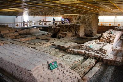 Inside Maya Devi Temple Lumbini