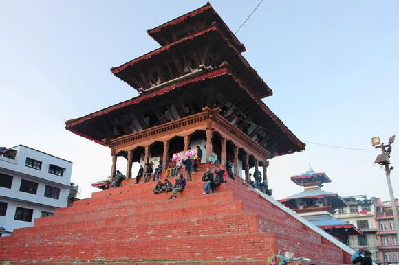 Maju Dega Temple before the earthquake