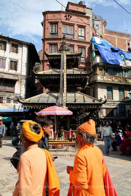The Annapurna Temple in Ason Chowk