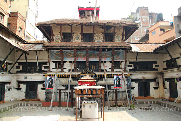 Maitripur Mahabihar Bahal in South Thamel