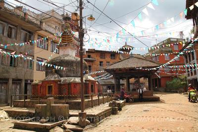 Prince Mahasatwo's Birthplace Panauti, Nepal