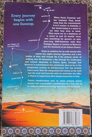 Slow Journey South Back Cover