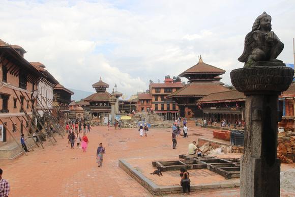 Bhaktapur Durbar Square in 2017