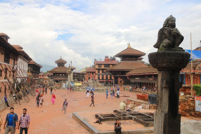 Bhaktapur Durbar Square in 2018
