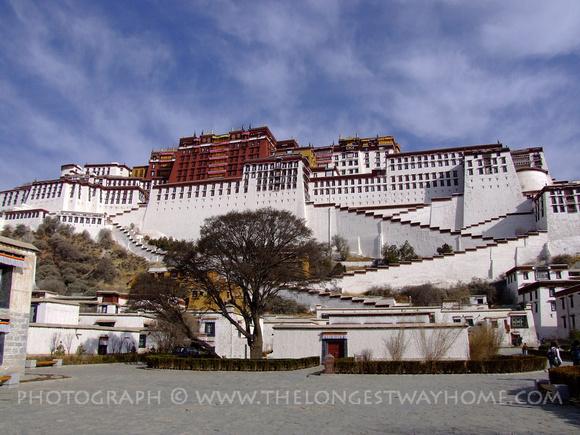 The Potala Palace Lhasa, Tibet