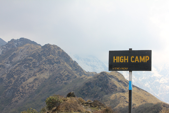 High camp on Mardi Himal
