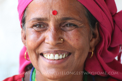 Meeting other women in Nepal